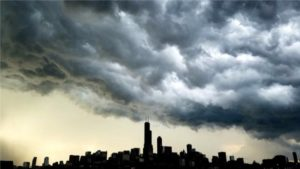 Dark Storm Clouds - Merts Heating