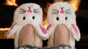 Bunny Slippers - Merts Heating
