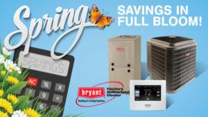 Merts Bryant HVAC spring savings