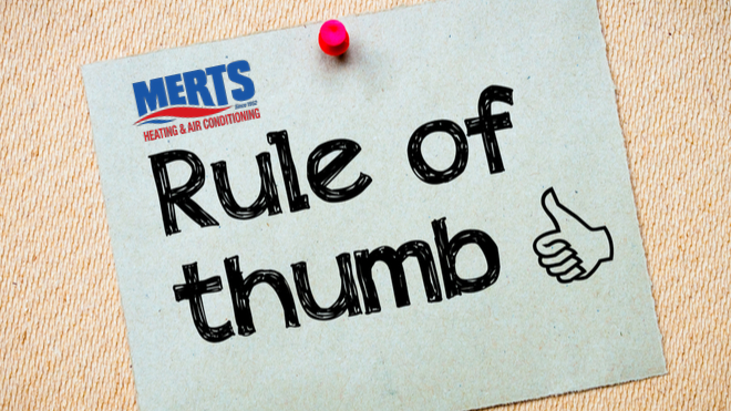 Understanding The HVAC Replacement Rule Of Thumb