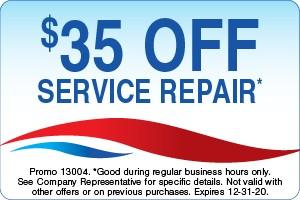 $35 Off Service Repair