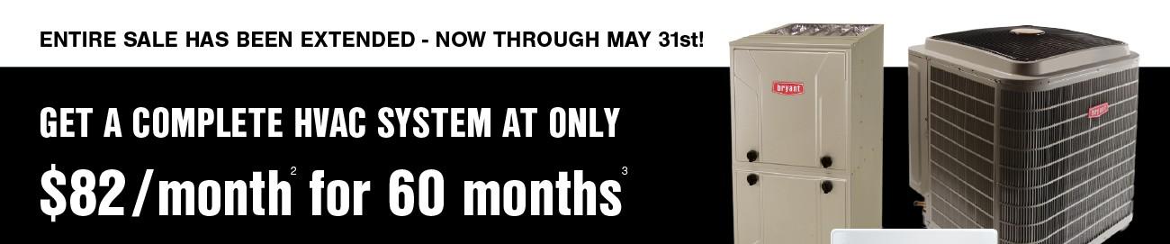 april hvac sale