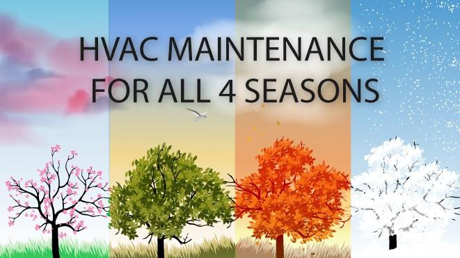 Annual HVAC Maintenance Timeline For All 4 Seasons