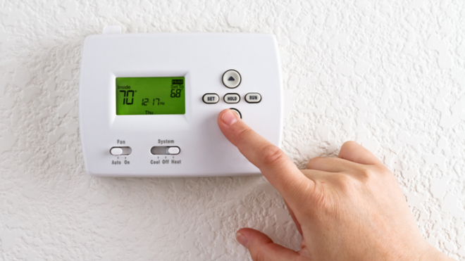 How To Set Your Thermostat To Automatic?